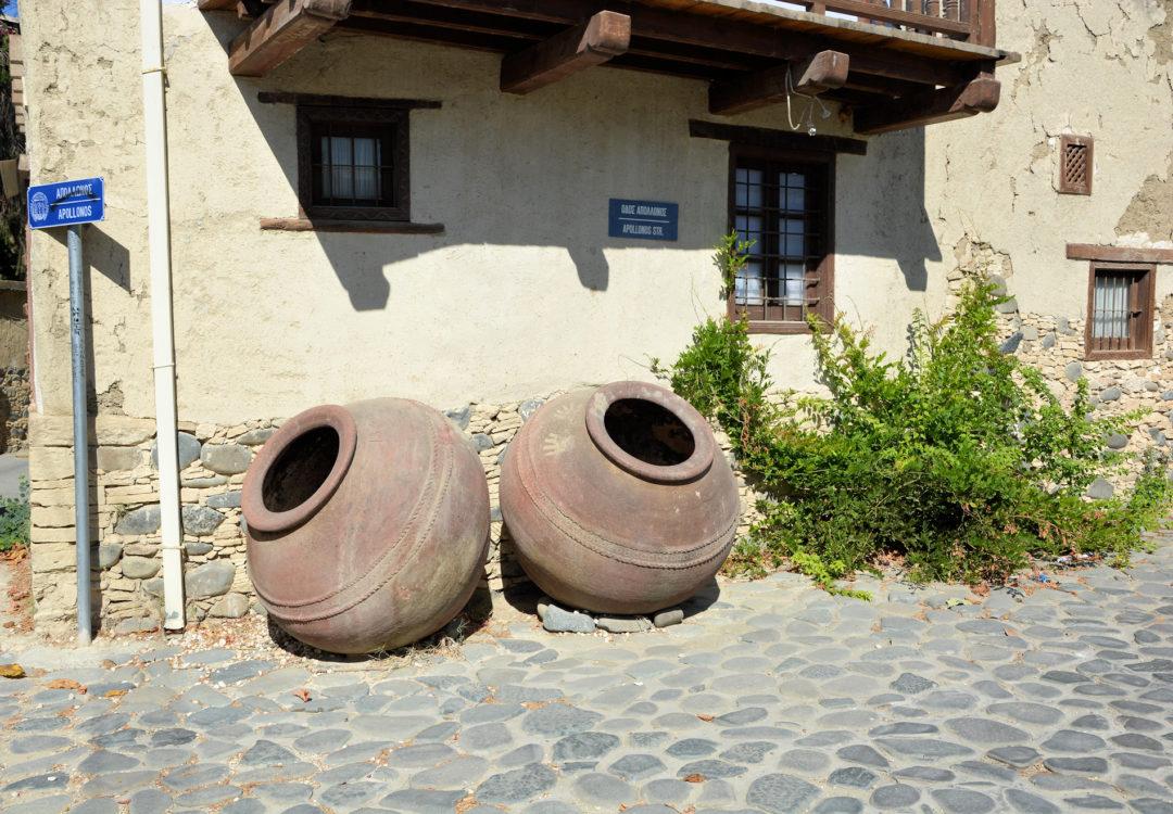 Vi besøgte flere små landsbyer på vores tur i Troodosbjergene på Cypern.