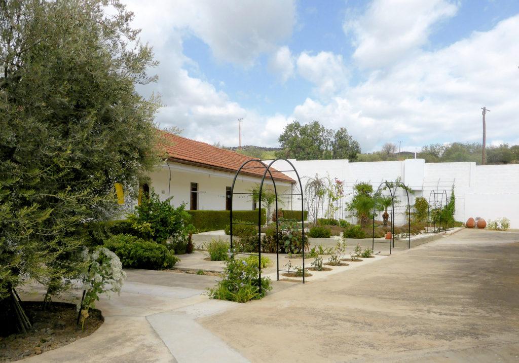 Cypern klostergården