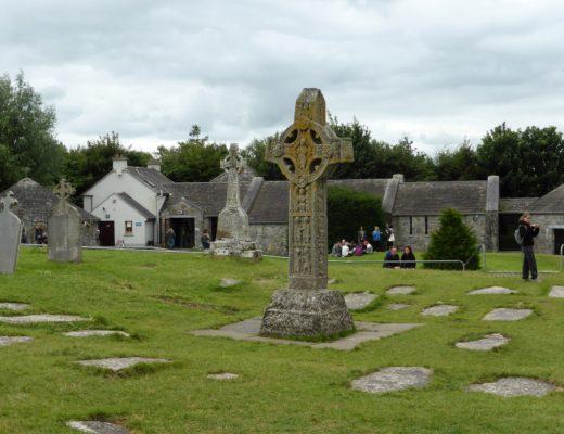 Keltisk kors ved Clonmacnoise