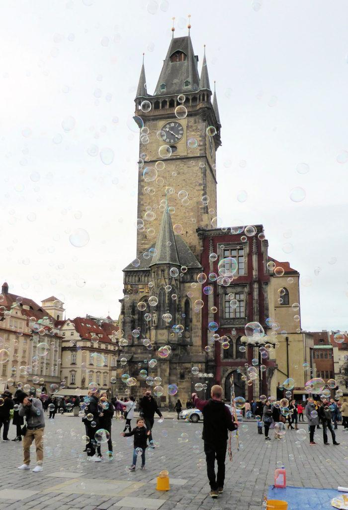 Rådhuspladsen i Prag