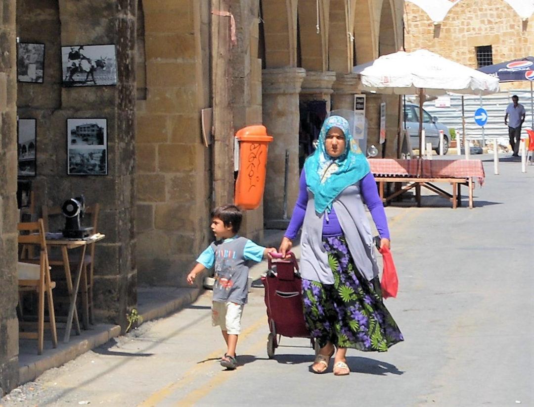 Gade i den tyrkiske del af Nicosia