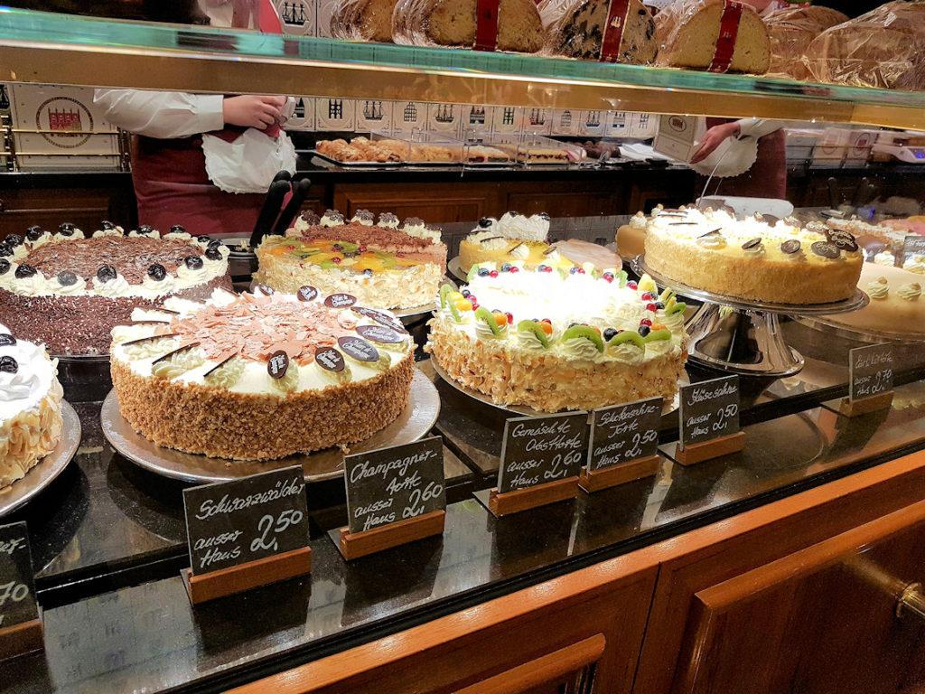 Café Niederegger i Lübeck