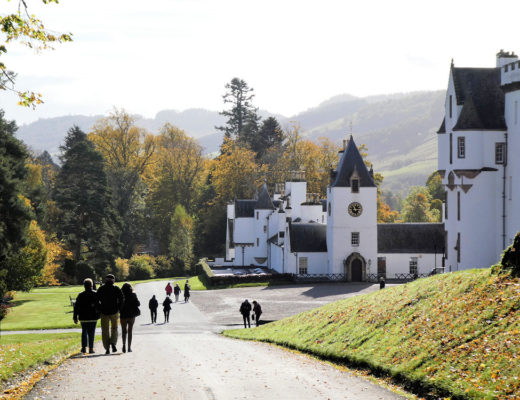 Blair Castle halloween