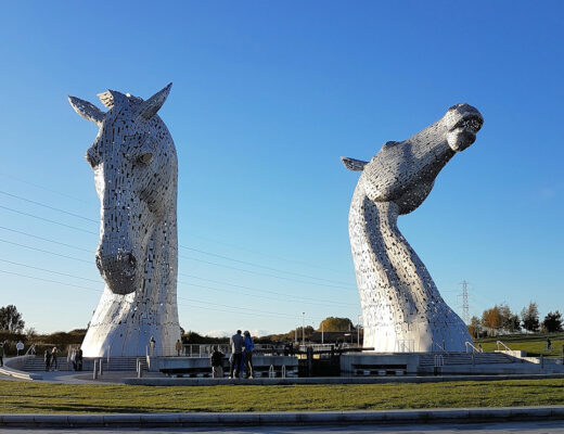 The kelpies, Helix Park