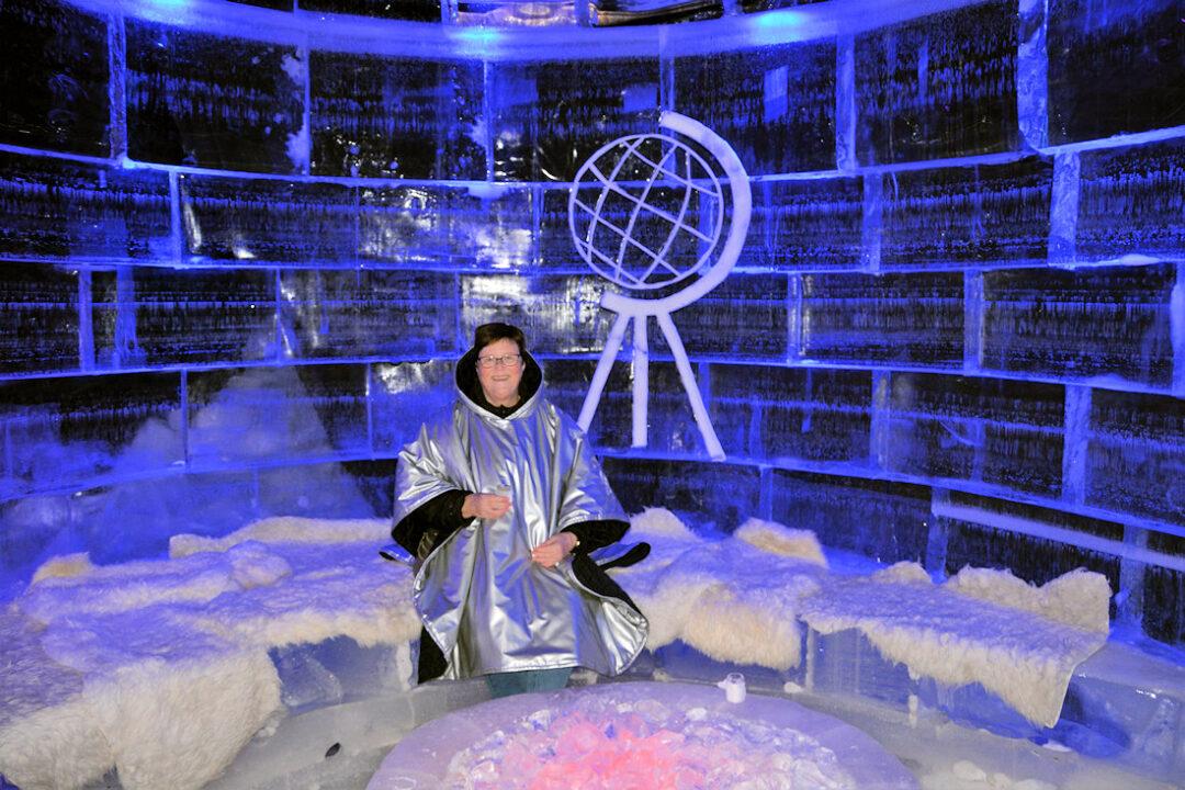 Ice bar i Honningsvåg, Norge